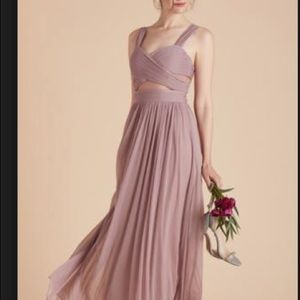 Birdy grey Elyse dress in mauve bridesmaid